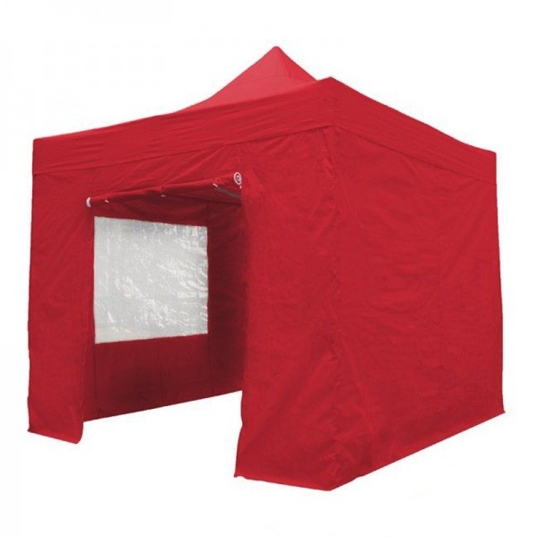 Easy Up Tent 3x3m Rood
